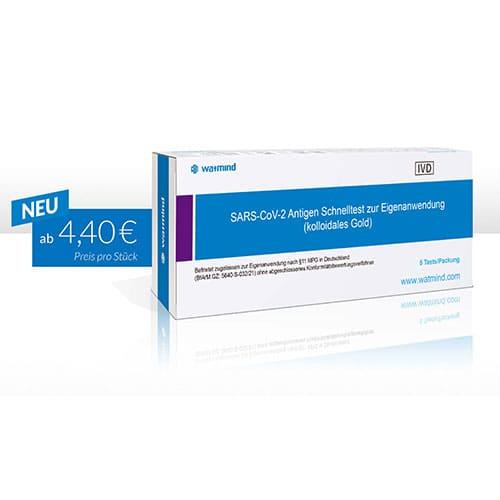 COVID-19 Antigen Schnelltest Laientest Lolli-Test