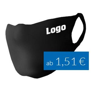 Mundschutz mit Logo