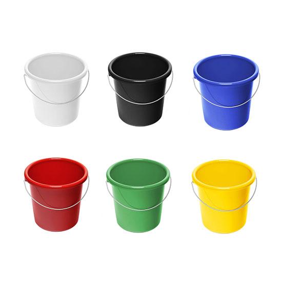 5l Eimer mit Logo Farben